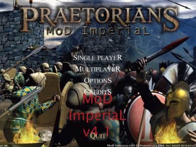 Скачать Praetorians MoD ImperiaL v4.1